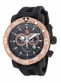 Invicta Men's 14288 Sea Base Quartz Multifunction Black Dial Watch
