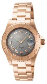 Invicta Women's 14368 Angel Quartz 3 Hand Light Grey Dial Watch