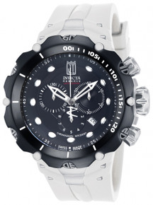 Invicta Men's 14421 Jason Taylor Quartz Chronograph Black Dial Watch