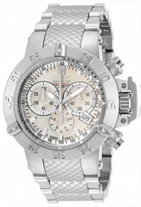 Invicta Women's 14598 Jason Taylor Quartz Chronograph White Dial Watch