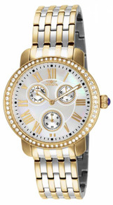 Invicta Women's 15010 Angel Quartz Chronograph White Dial Watch