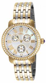 Invicta Women's 15010 Angel Quartz Chronograph White Dial Watch