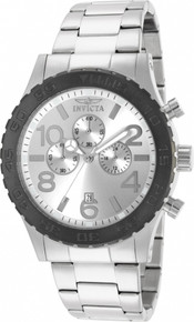 Invicta Men's 15159 Specialty Quartz Multifunction Silver Dial Watch
