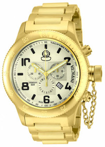 Invicta Men's 15473 Russian Diver Quartz Chronograph Champagne Dial Watch