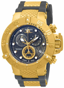 Invicta Men's 15801 Subaqua Quartz Chronograph Gunmetal Dial Watch