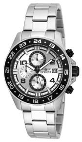 Invicta Men's 16022 Pro Diver Quartz Multifunction Silver Dial Watch