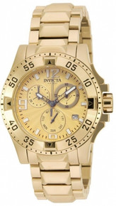 Invicta Women's 16102 Excursion Quartz Chronograph Gold Dial Watch