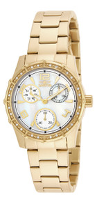 Invicta Women's 16121 Angel Quartz Chronograph White Dial Watch