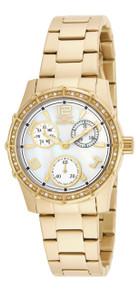 Invicta Women's 16121 Angel Quartz Chronograph White Dial Watch