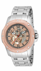 Invicta Men's 16128 Specialty Mechanical Multifunction Rose Gold Dial Watch