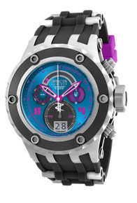 Invicta Men's 16252 Subaqua Quartz Multifunction Blue, Hot Pink Dial Watch