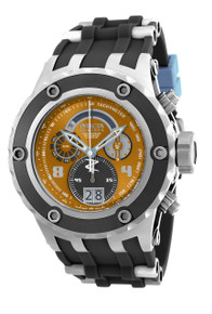 Invicta Men's 16253 Subaqua Quartz Multifunction Brown, Light Blue Dial Watch