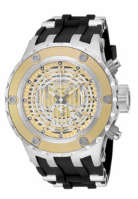 Invicta Men's 16830 Subaqua Quartz Chronograph Gold, Antique Silver Dial Watch