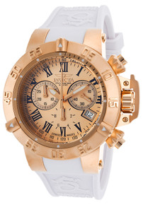 Invicta Women's 16878 Subaqua Quartz Chronograph Rose Gold Dial Watch