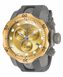Invicta Men's 16986 Venom Quartz Chronograph Gold Dial Watch