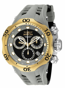 Invicta Men's 16992 Venom Quartz Chronograph Black, Dark Grey Dial Watch