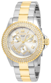Invicta Women's 16998 Angel Quartz Chronograph Silver Dial Watch