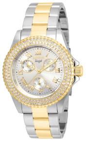 Invicta Women's 16998 Angel Quartz Chronograph Silver Dial Watch