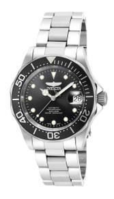 Invicta Men's 17039 Pro Diver Automatic 3 Hand Black Dial Watch
