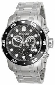 Invicta Men's 17082 Pro Diver Quartz Chronograph Black Dial Watch