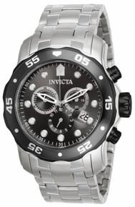 Invicta Men's 17083 Pro Diver Quartz Chronograph Charcoal Dial Watch