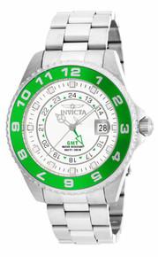 Invicta Men's 17134 Pro Diver Quartz 3 Hand White Dial Watch