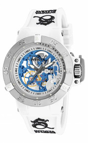 Invicta Women's 17138 Subaqua Mechanical 3 Hand Silver Dial  Watch