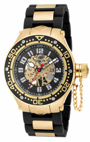 Invicta Men's 17248 Corduba Mechanical 3 Hand Black Dial Watch
