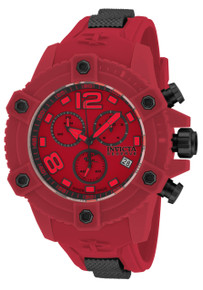Invicta Men's 17295 Reserve Quartz Chronograph Red Dial Watch