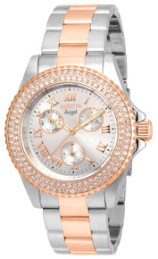 Invicta Women's 17358 Angel Quartz Chronograph Silver Dial Watch