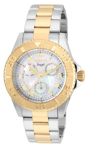 Invicta Women's 17526 Angel Quartz Chronograph White Dial Watch
