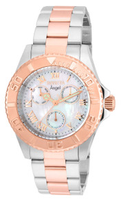 Invicta Women's 17527 Angel Quartz Chronograph White Dial Watch