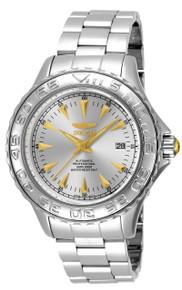 Invicta Men's 17584 Pro Diver Automatic 3 Hand Silver Dial Watch