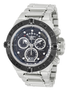 Invicta Men's 17610 Subaqua Quartz Chronograph Gunmetal Dial Watch