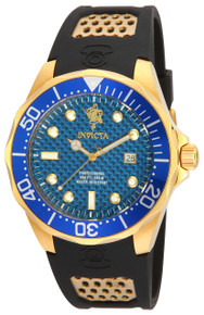 Invicta Men's 17970 Sea Base Quartz 3 Hand Blue Dial Watch