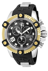 Invicta Men's 17974 Sea Base Quartz 3 Hand Black Dial Watch