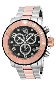 Invicta Men's 17992 Sea Base Quartz Chronograph Black Dial Watch