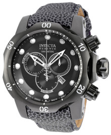Invicta Men's 18304 Venom Quartz Chronograph Black Dial Watch