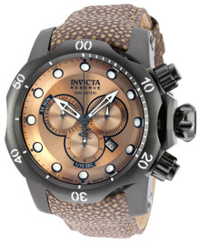 Invicta Men's 18307 Venom Quartz Chronograph Light Brown Dial Watch