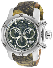 Invicta Women's 18310 Venom Quartz Chronograph Black, Green, Light Green Dial Watch