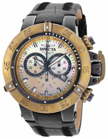Invicta Men's 18448 Subaqua Quartz Chronograph Gold Dial Watch