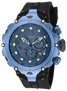 Invicta Men's 18453 Venom Quartz Chronograph Black, Grey Dial Watch