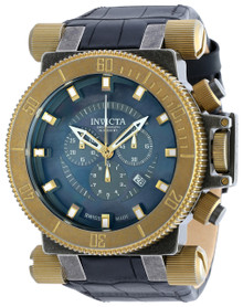 Invicta Men's 18462 Coalition Forces Quartz Chronograph Black Dial Watch