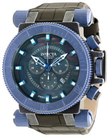 Invicta Men's 18464 Coalition Forces Quartz Chronograph Black Dial Watch