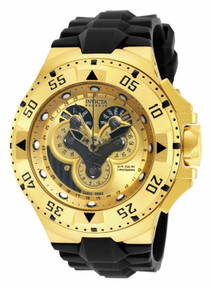 Invicta Men's 18557 Excursion Quartz Multifunction Gold Dial Watch
