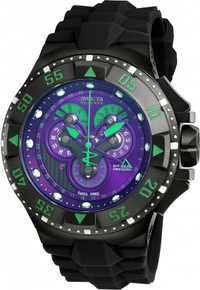 Invicta Men's 18563 Excursion Quartz Multifunction Violet Dial Watch
