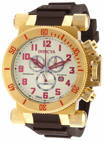 Invicta Men's 18730 Coalition Forces Quartz Chronograph Champagne Dial Watch