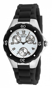 Invicta Women's 18787 Angel Quartz Chronograph White Dial Watch