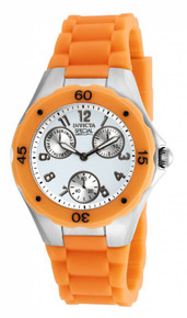 Invicta Women's 18792 Angel Quartz Chronograph White Dial Watch