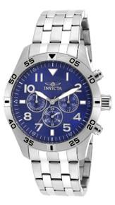 Invicta Men's 19201 I-Force Quartz Chronograph Blue Dial Watch